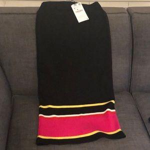ZARA TRF Midi Skirt NWT